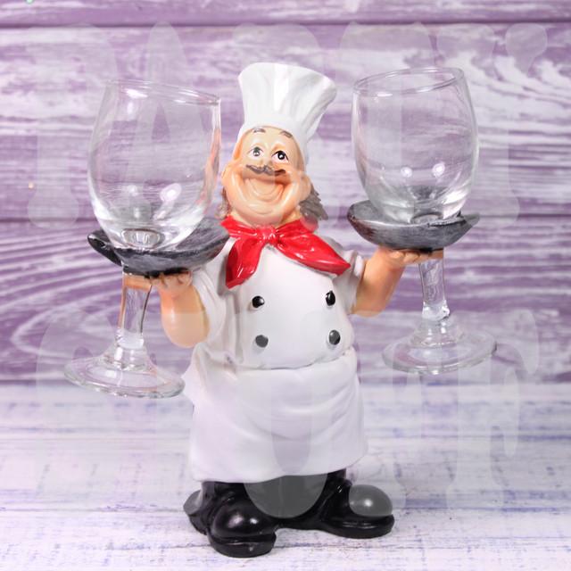 подставка под бокалы повар