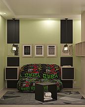 Дизайн подростковой Green 2, фото 3