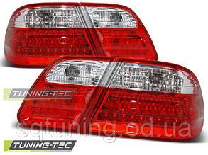 Задние фонари MERCEDES W210 95-03.02 RED WHITE LED