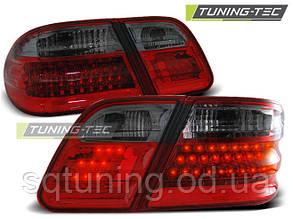 Задние фонари MERCEDES W210 E-KLASA 95-03.02 RED SMOKE LED