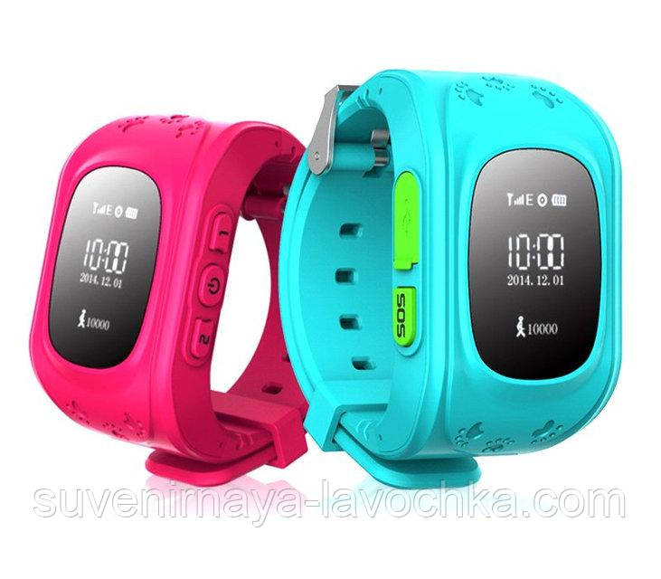 Детские часы Smart Baby Watch Q50 (c GPS)