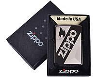 Зажигалка бензиновая Zippo в подарочной упаковке №4732-5