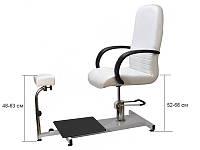 Педикюрное кресло модель SPA-100, белое