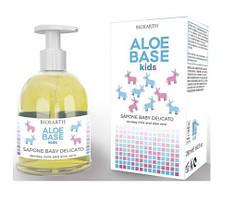 Bioearth Aloebase Kids Детское нежное мыло 250 мл, 8029182008873