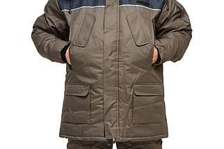 """Костюм для зимней рыбалки до -30℃ """"Турист"""" Хаки, фото 2"""