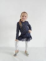 """Платье """"Звездное небо"""" с оборочкой из сетки, фото 1"""