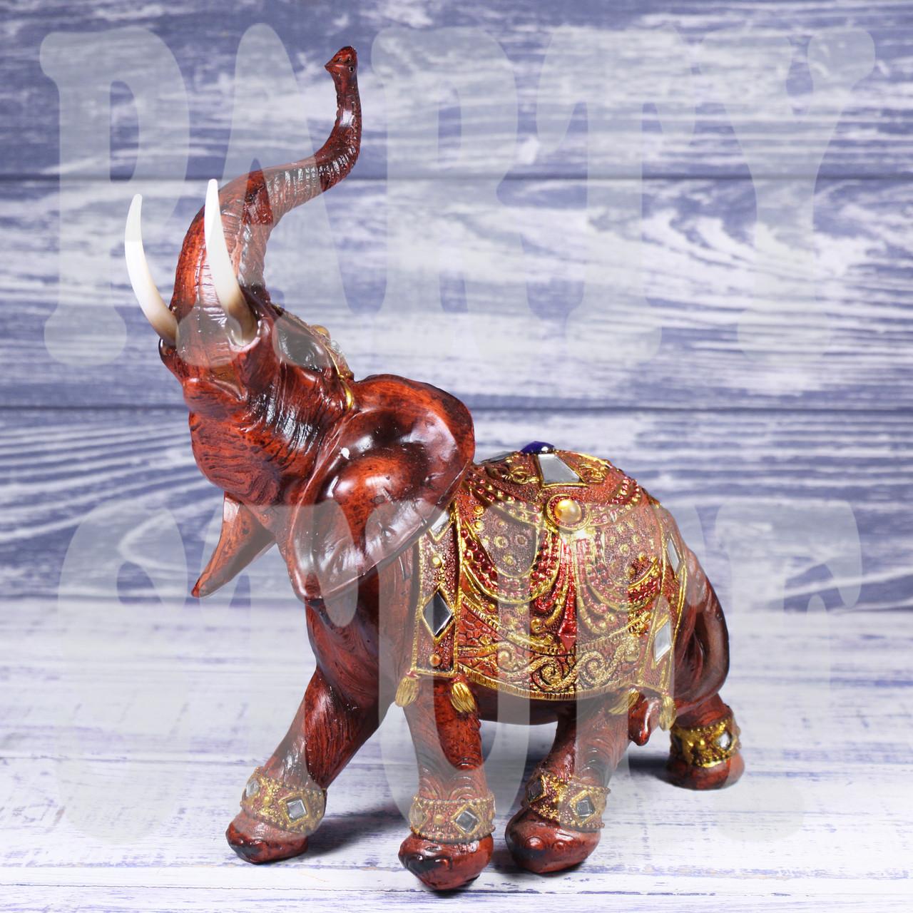 Статуэтка Слон коричневый