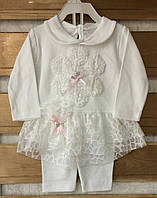 Детский костюм для новорожденных на девочек 9-12 мес