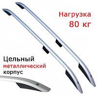 Рейлинги на Citroen Jumpy (c 2007--) металлические наконечники