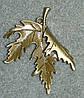 Кленовый листок. подвеска