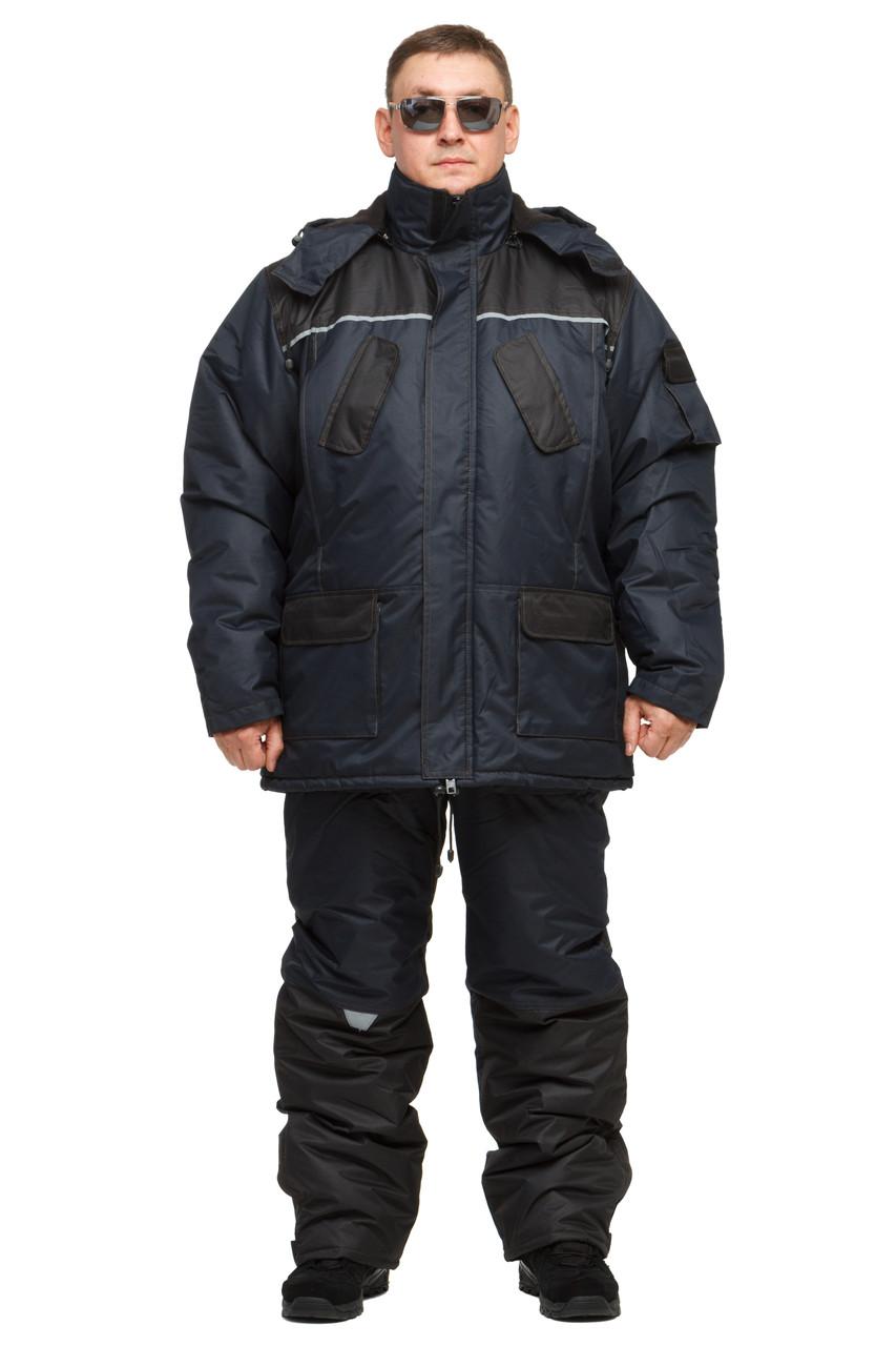 """Костюм для зимней рыбалки до -30℃ """"Турист"""" Синий"""
