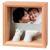 Набор для создания отпечатка ручки и ножки малыша Baby Art Фотоскульптор Натуральная (34120183)
