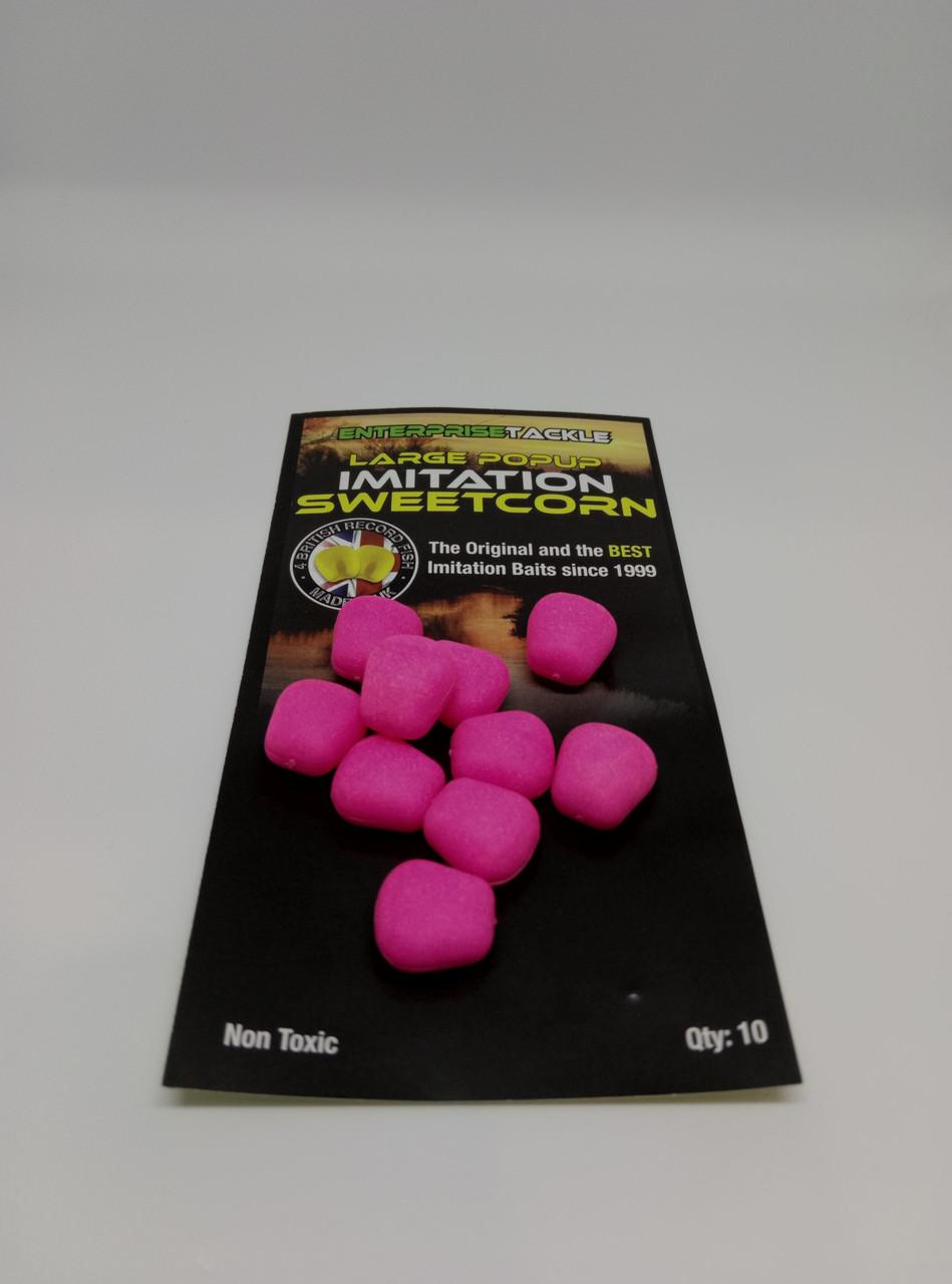 Кукуруза Enterprise tackle Large Popup Sweetcorn Fluoro Pink