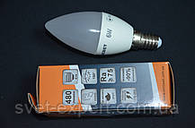 Светодиодная лампа Евросвет С-6-4200-14 6W 4200K E14 220V , фото 3