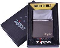 Зажигалка бензиновая Zippo в подарочной упаковке №4748