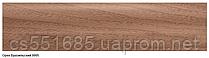 0005 орех бразильский (2500х60х29мм)- плинтус напольный с кабель каналом ТЕКО Люкс