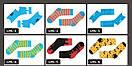 Мужские голубые носки в квадраты. Артикул: LMS-3, фото 4