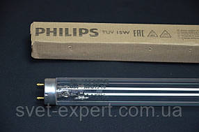 Лампа бактерицидная Без озоновая PHILIPS TUV 15W