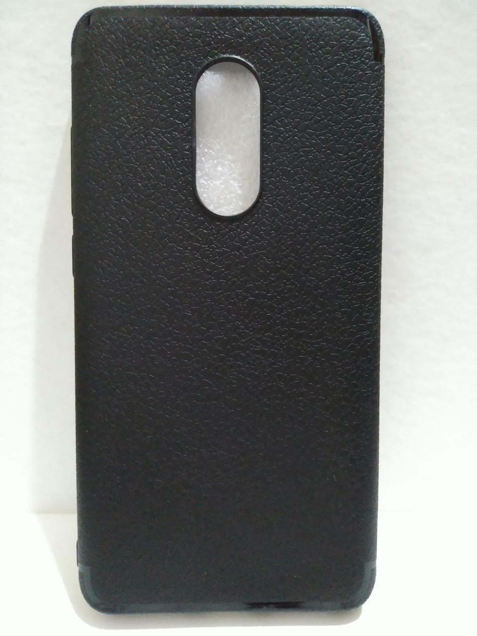 Чехол силиконовый для Xiaomi Redmi Note 4x черный
