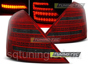 Задние фонари MERCEDES W221 S-KLASA 05-09 RED SMOKE LED