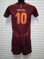 Футбольная форма детская ФК Барселоны сезон 2017-2018г( Месси)