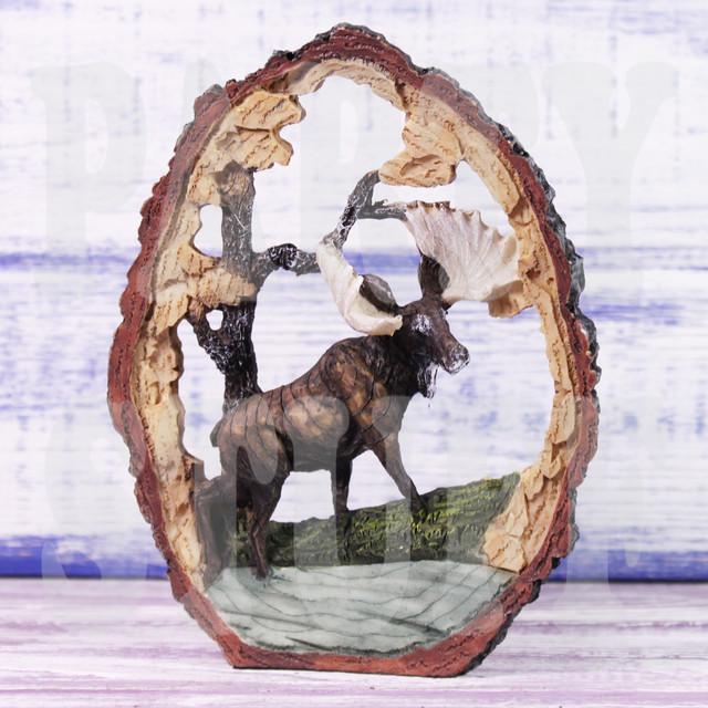 статуэтка лось