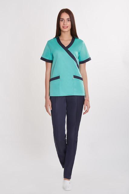 Жіночий медичний костюм, велика різноманітність кольорів, р. 40-58