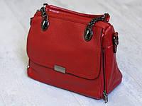Новинка 2020 года! Красивая красная стильная сумка для девушек и женщин, ручки на цепочке через плечо.