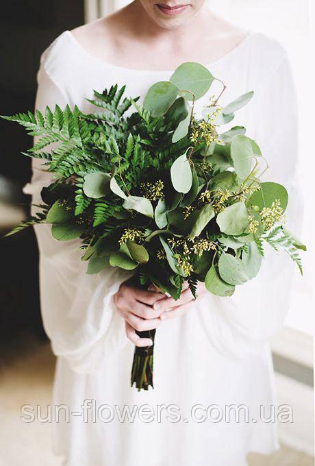 Букет нареченої в ботанік стилі.