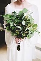 Букет невесты в ботаник стиле.