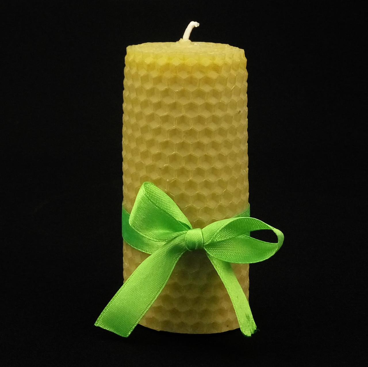 Свеча из пчелиного воска h 100, Ø 50 мм