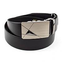 Мужской кожаный ремень Y-01 (черный), фото 1