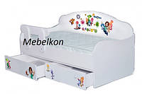 Кроватка диванчик Фиксики