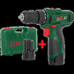 Шуруповерт аккумуляторный DWT ABS-12 СLi-2 BMC