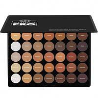 Профессиональная палитра теней Studio Pro Ultimate Neutrals - 42 Color Shadow Palette BH Cosmetics Оригинал