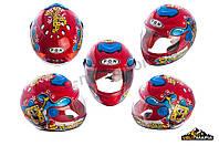 Детский универсальный защитный шлем Sponge bob