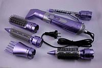 Професійна фен-щітка з насадками Shinon SH-9822-7 in 1, 6 насадок для швидкого укладання волосся