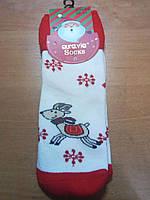 Махровые носки для девочек. Размер: 28-31