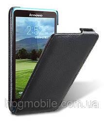 Чехол для Lenovo A766 - Melkco Jacka leather case, черный