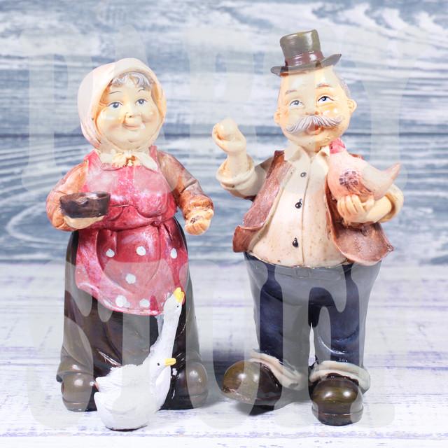 статуэтка дед и баба