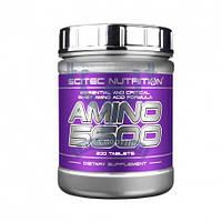 Scitec Nutrition Amino 5600 аминокислоты дл роста мышц восстановления спортивное питание