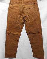 Котоновые брюки со стрейчем мальчик 6-16 лет