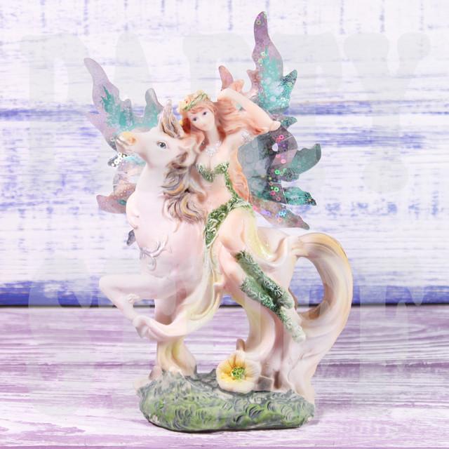 статуэтка фея зеленая
