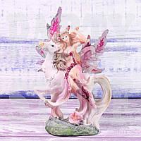 Статуэтка Фея розовая