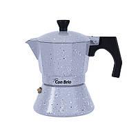 Гейзерная кофеварка Con Brio 150 мл (СВ6703)