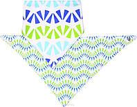 Шейный платок–слюнявчик BabyOno Pattern, 2 шт. (879/06)