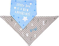Шейный платок–слюнявчик BabyOno , 2 шт.