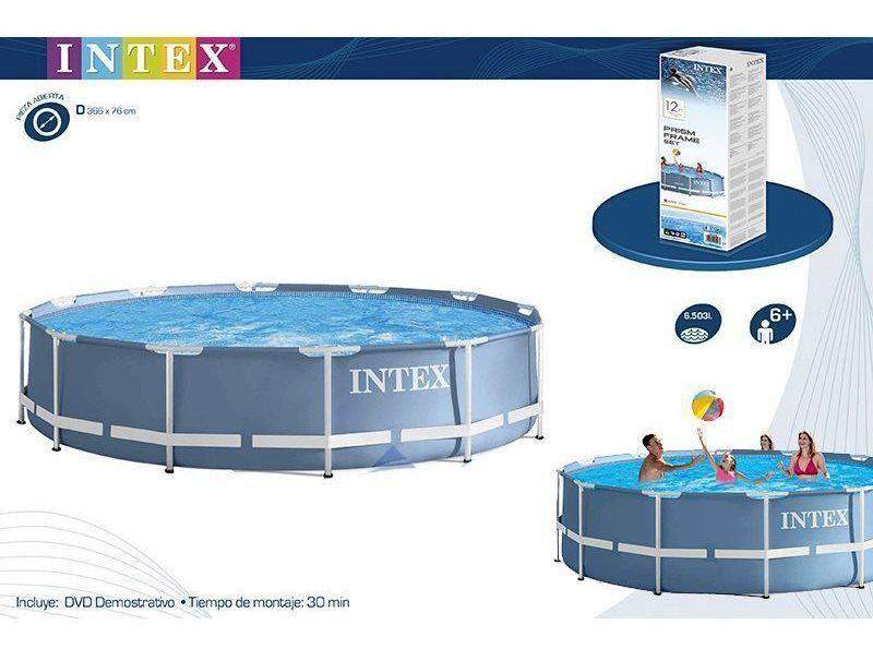 Каркасный бассейн Intex 28710 Prism Frame 366x76 см