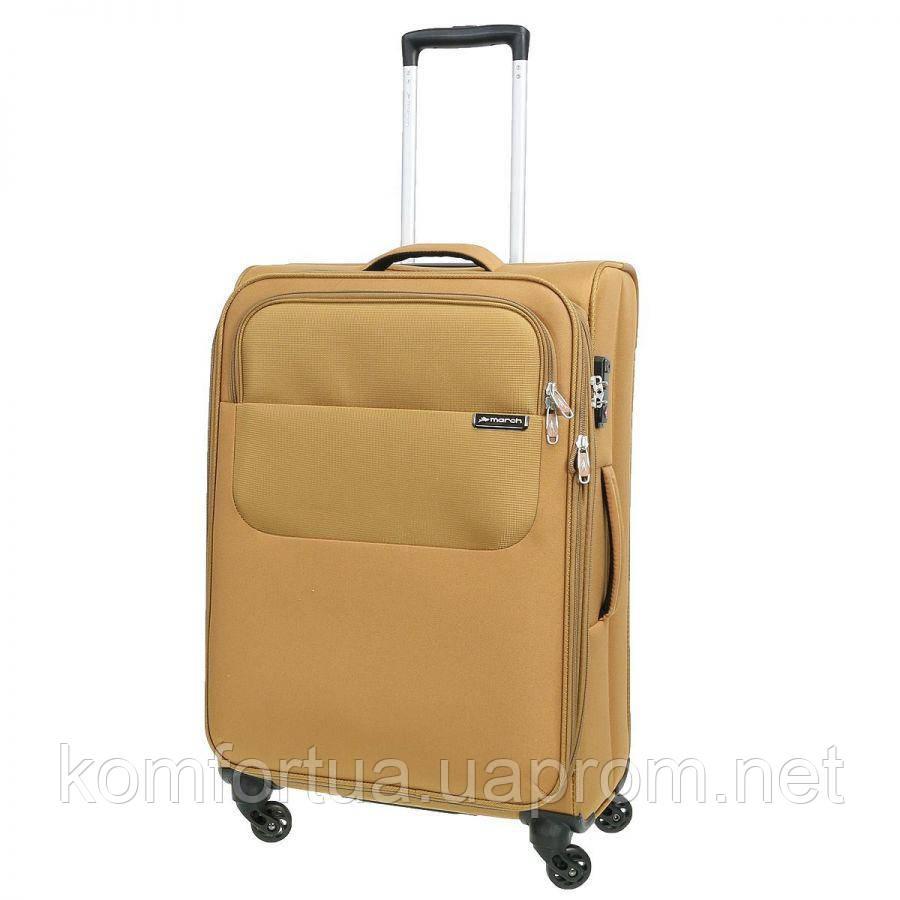 Текстильный чемодан M на 4 колесах March Carter SE 2202/09