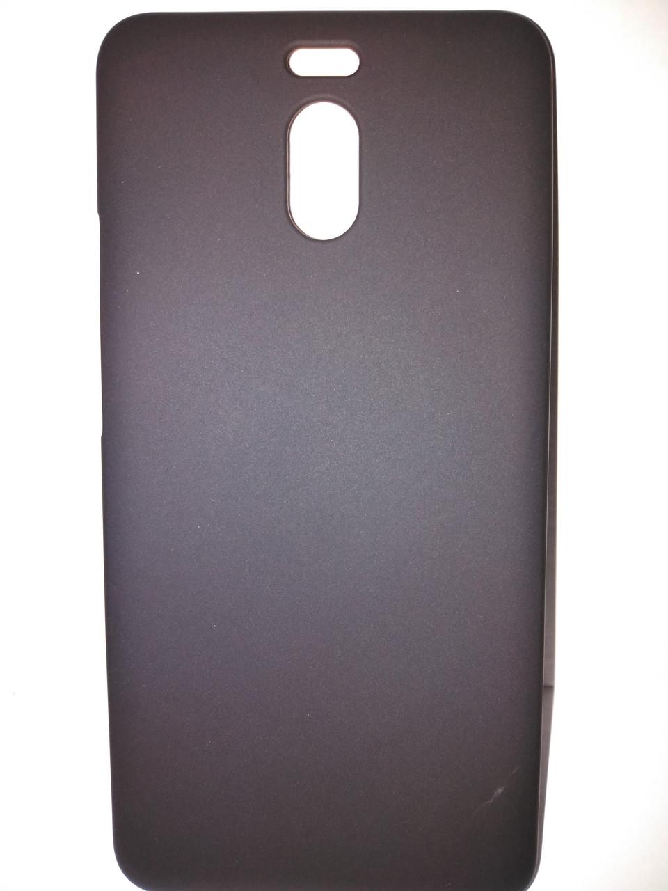 Чехол бампер силиконовый для Meizu M6 Note. Черный